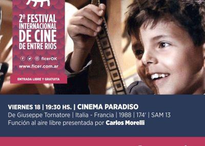 Cinema Paradiso_ Viernes 18_ Ficer